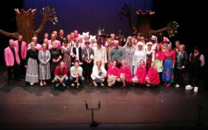 AlloJannao - Haaksbergen - Revue - Hoksebarge - Allô Jannaô - Tone - Gaitjan - Truike - Graads - Leida - Toneel - Theater de Kappen - Buurse - Hoeve - Zang - Dans - Opening WAK 2015