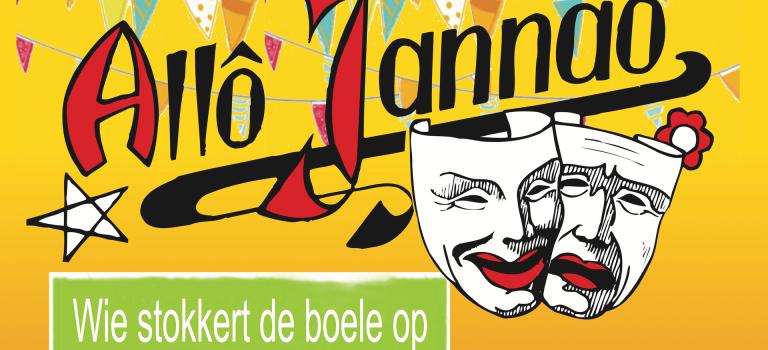 AlloJannao - Haaksbergen - Revue - Hoksebarge - Allô Jannaô - Tone - Gaitjan - Truike - Graads - Leida - Toneel - Theater de Kappen - Buurse - Hoeve - Zang - Dans - 2016 Jubileum Revue